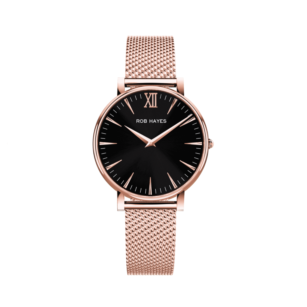 rob-hayes-berkeley-mens-womens-ladies-watch-swiss-made-rose-gold-black
