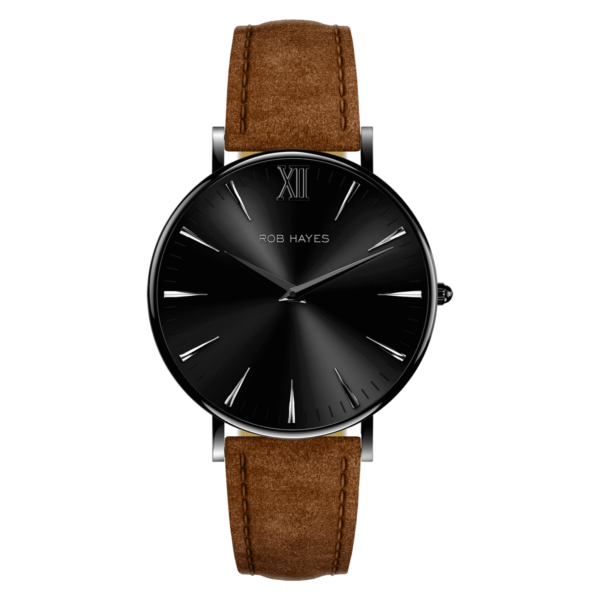 rob-hayes-berkeley-38-leather-watch-black-brown-italian-suede-leather-strap